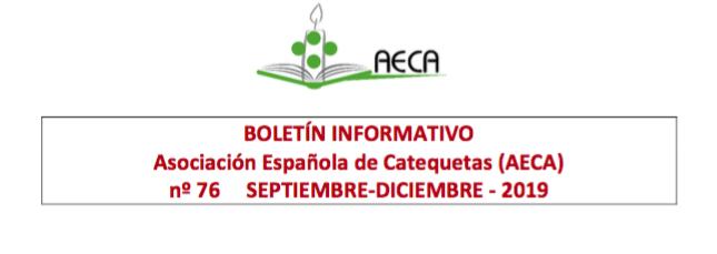 BOLETIN AECA nº 76: Septiembre – Diciembre 2019