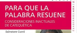 CUADERNO AECA Nº 15: PARA QUE LA PALABRA RESUENE, febrero 2019